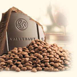 CALLEBAUT CHOCOLADE CALLETS MELK  350 GR