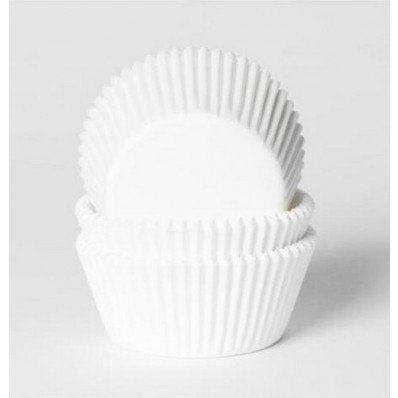 CUPCAKE CUPS WIT 50X33MM. 50ST