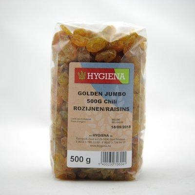 ROZIJNEN GOLDEN JUMBO (CHILI) 500 G
