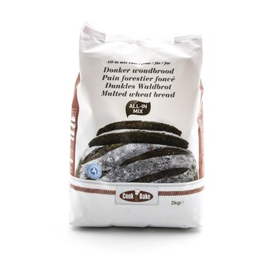 ALL-IN MIX VOOR DONKER WOUD BROOD 2KG