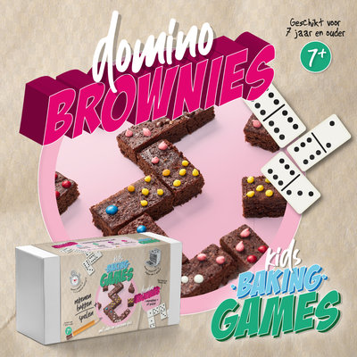 !! KADOTIP !!  KIDS BAKING GAMES DOMINO BROWNIES