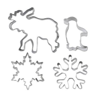 Koekjes Uitsteker - Winter Wonderland - Set, 4 stuks
