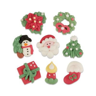 8-delige Kerst set, suiker, klein